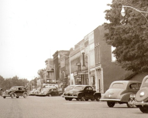 Downtown Hastings 1940 Cropped